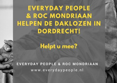ROC Mondriaan Dordrecht homeless project