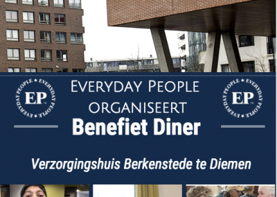 Charity dinner nursing home Berkenstede