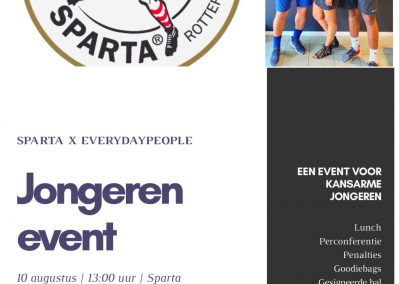 Sparta Rotterdam x Everyday people