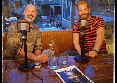 Podcast met Wisse Krijger